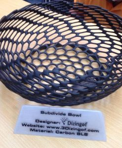 3D Printed Subdivide Bowl by Dizingof