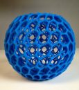3d printed -Cells Bowl – Math Art by @Dizingof