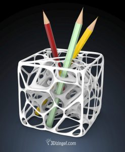 Neuron-Cube-Pencil-Holder - by-Dizingof-.7530
