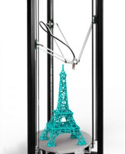 3D Voronoi Eiffel Tower 60cm tall by Dizingof-.8975