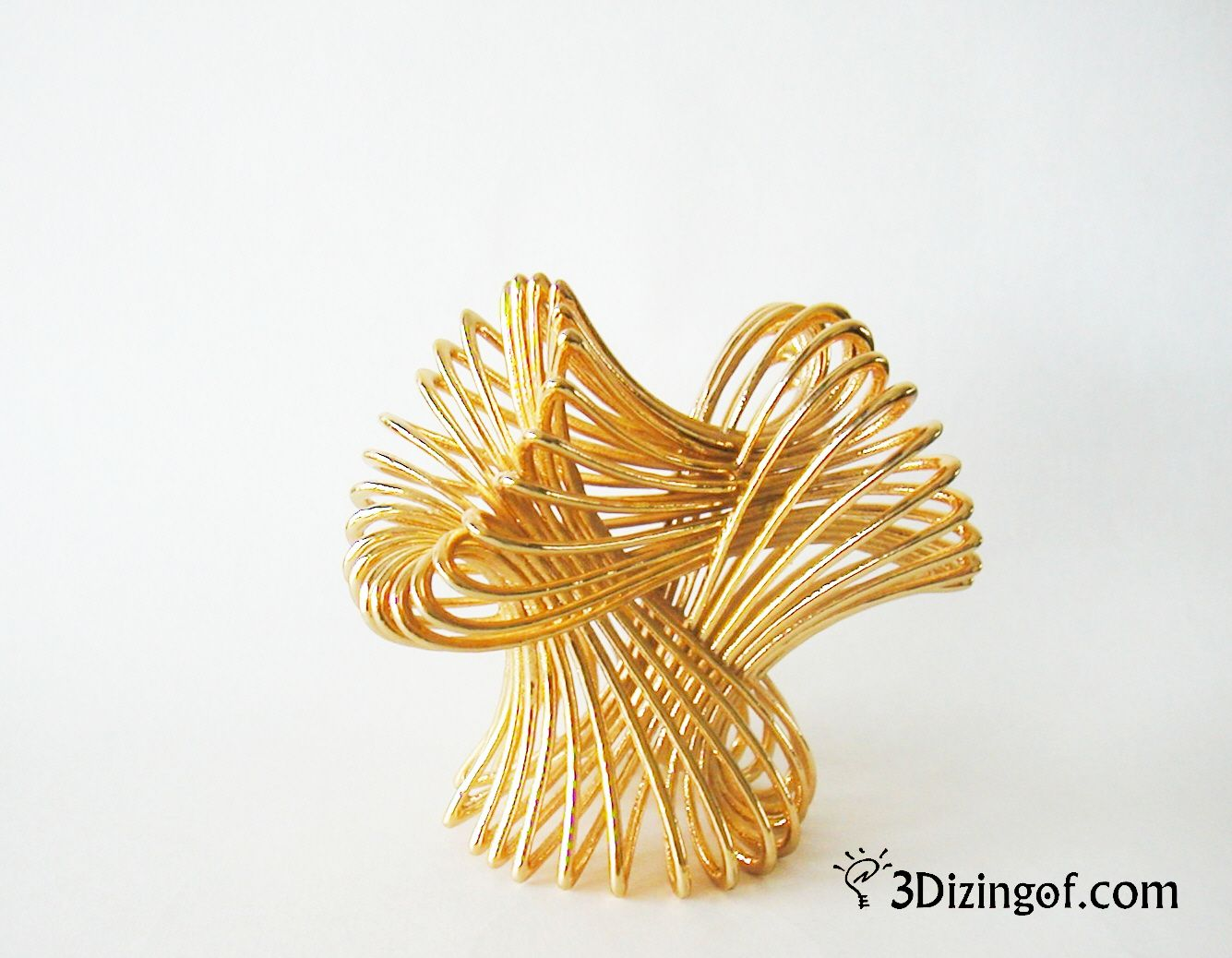 3d printed Infinity - Math Art by Dizingof - 3