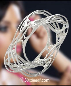 Bliss-Bangle - Fractals-Jewelry-by-Dizingof-.6458