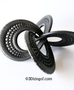 Singularity Knot - Math Art by Dizingof