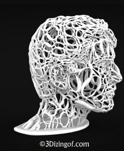 Acia Statua - Algorithmic sculpture by Dizingof-.11156
