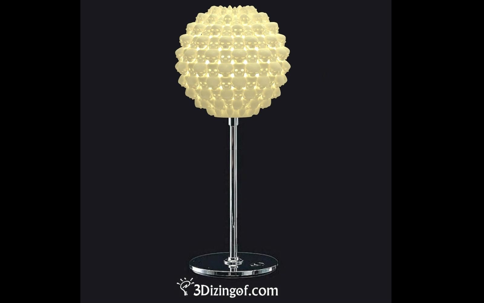 at f l modern brass furniture sphere table lamps for lighting karl mid springer ball lamp century sale id