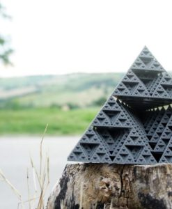 3d printed Equilateral Pyramid by Dizingof-1