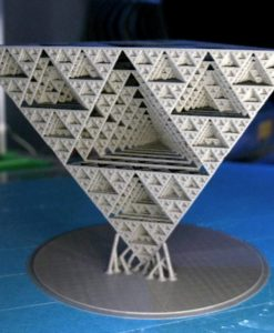 Equilateral Pyramid- Math Art by Dizingof