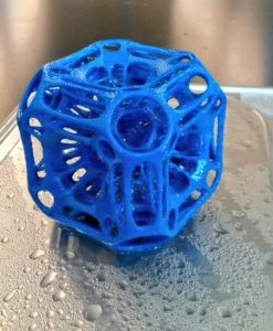 3d printed cube echo on sigma 3d printer-3