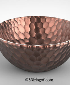 Copper Beating Bowl - by Dizingof-.12325