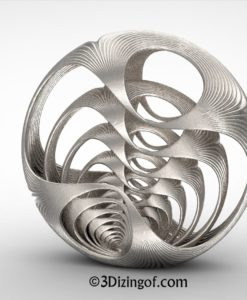 Accedo - Fractal Sculpture by Dizingof-.12424