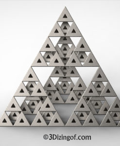 Sierpinski Triangles - Math Art by Dizingof-.13363